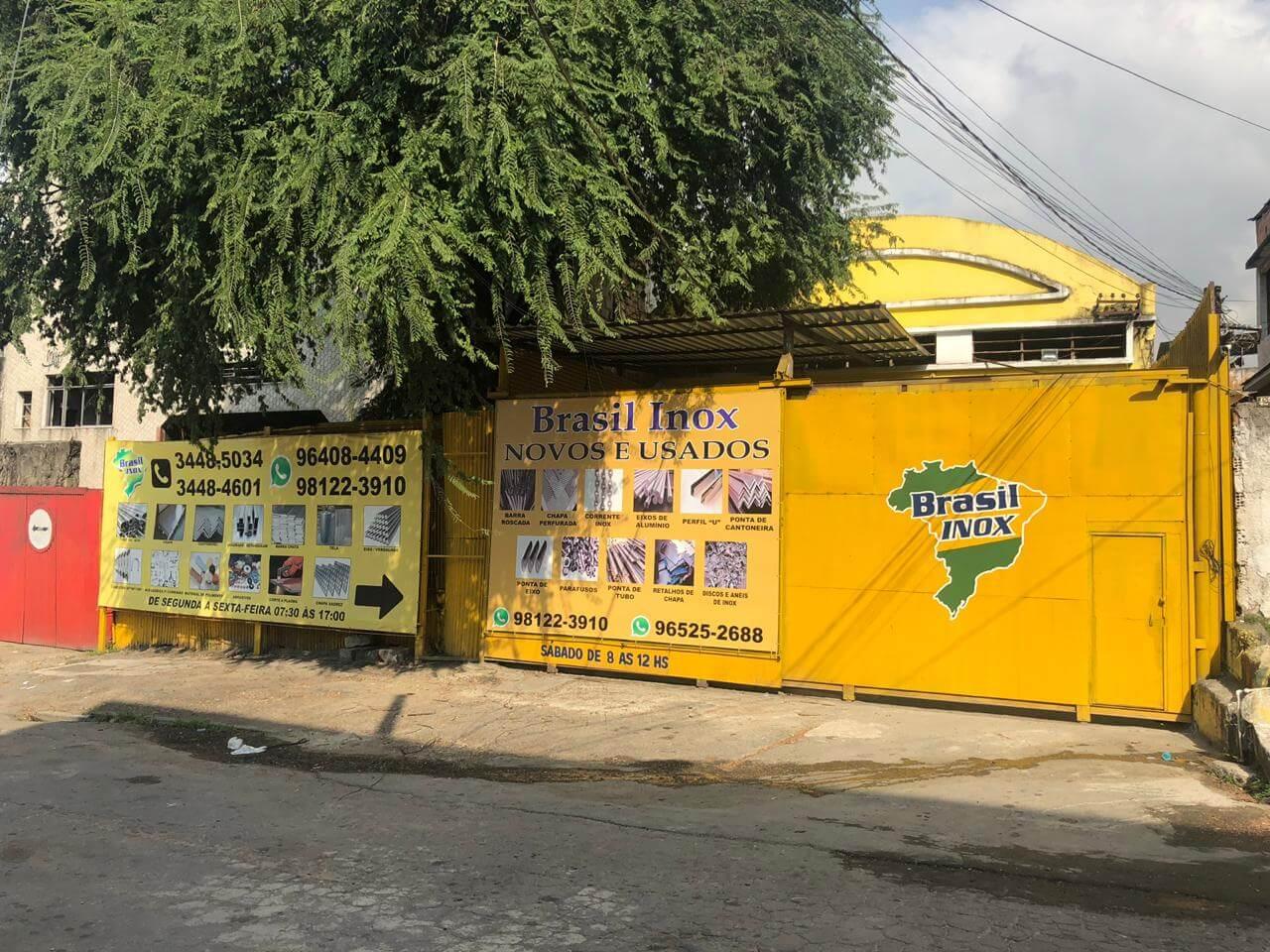 Empresa de venda de aço inox - Rio de Janeiro
